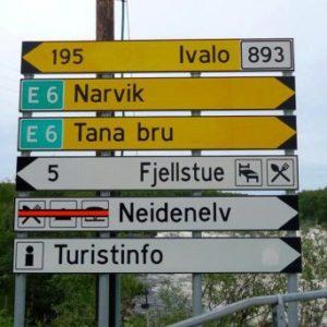 079 Развилка в Нейдене. Отсюда до Финляндии - рукой подать