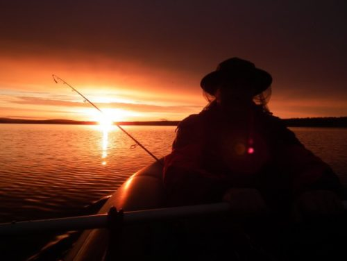 Сплав и рыбалка на реке Кица.